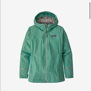 Teal Patagonia Ski Coat